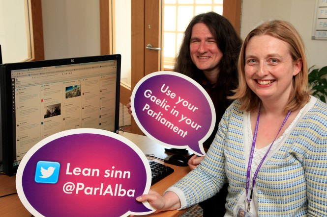 Twitter Gaelic Language Day