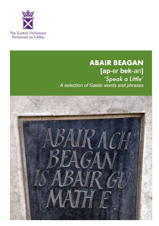 abair beagan cover
